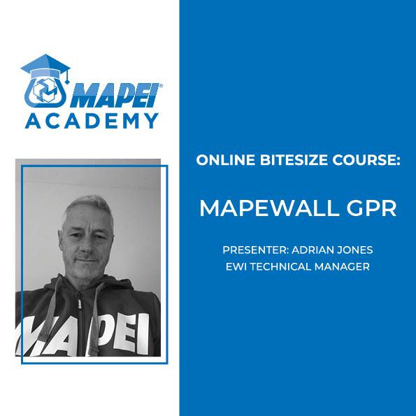 MAPEI MAPEWALL COURSES 2021