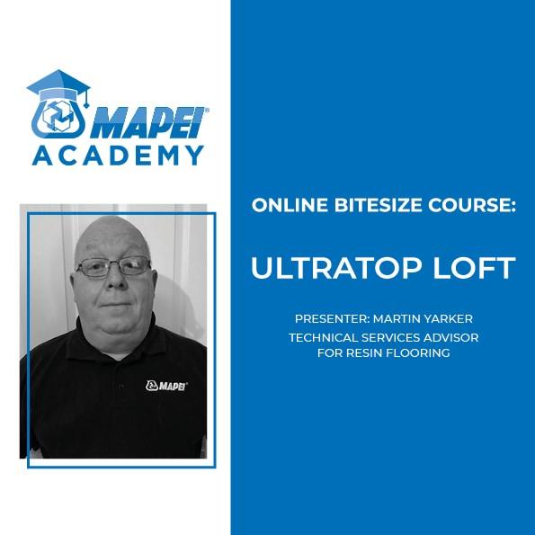 MAPEI ULTRATOP LOFT COURSES 2021