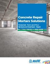 Concrete Repair Mortars Solutions