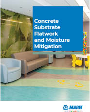 Concrete Substrate Flatwork and Moisture Mitigation