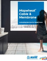 Mapeheat Cable & Membrane brochure