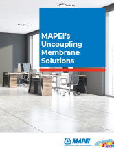 MAPEI's Uncoupling Membrane Solutions