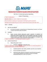 Mapethene-Elevator-Pit-Guide-Spec