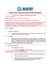 Mapethene-Guide-Spec
