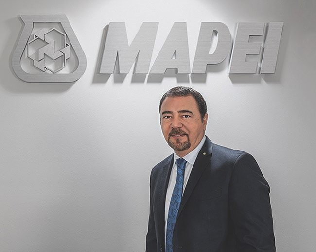 Luigi Di Geso, presidente y director ejecutivo, MAPEI Norte América