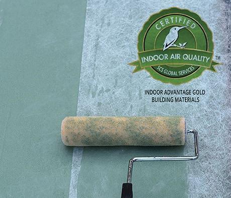 Planiseal CR1 waterproofing membrane – SCS Indoor Advantage Gold certified