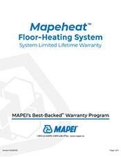 mapeheat warranty lifetime