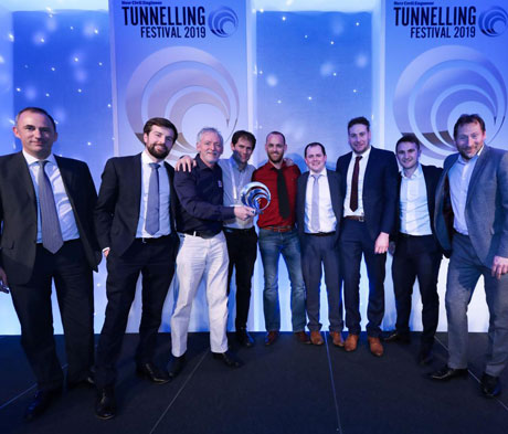 Mapei UTT wins NCE Tunnelling Award for Bank Station.
