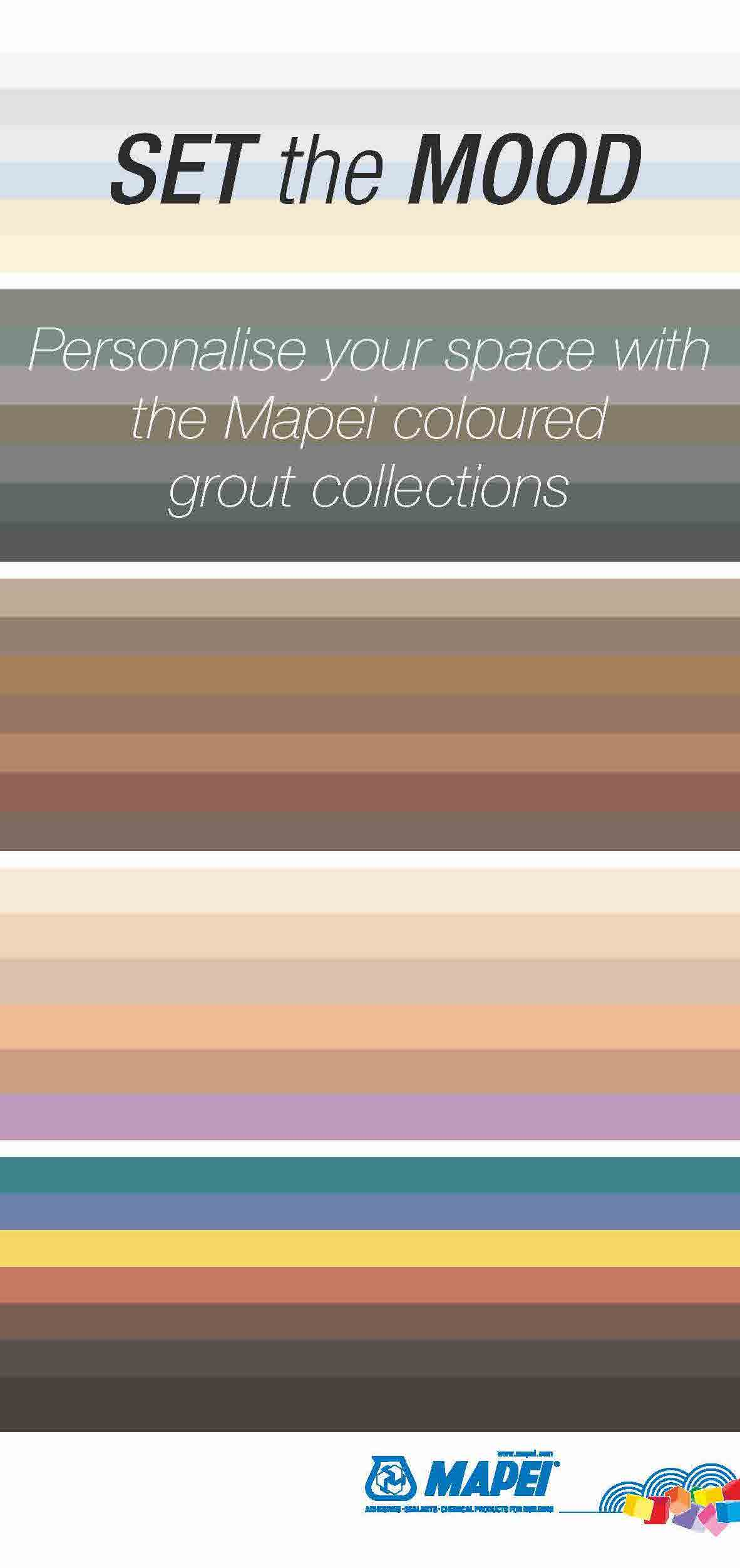 Mapei Coloured Grouts Leaflet
