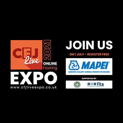 Mapei added to the CFJ Live Expo exhibitor line-up.