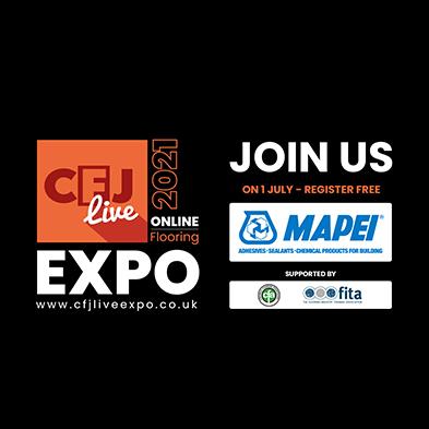 mapei UK CFJ Live Online Flooring Expo