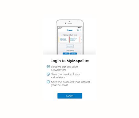 Mapei App Screenshot