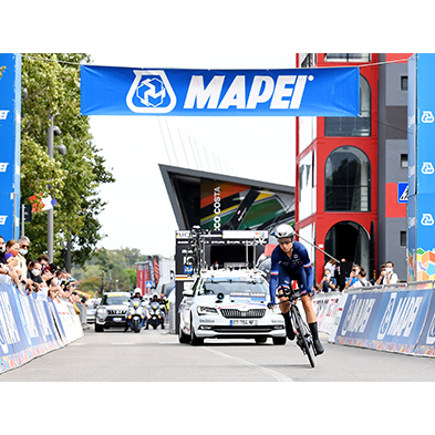 Cycling World Championship – 19th/26th September 2021 Mapei continues to pedal alongside the International Cycling Union.