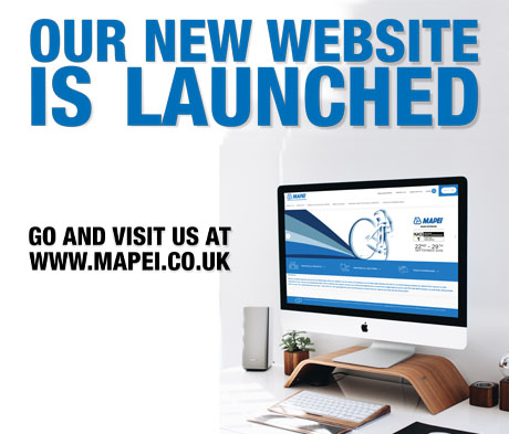 The Mapei UK website gets an upgrade.