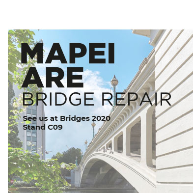 Mapei to exhibit at annual Bridges exhibition