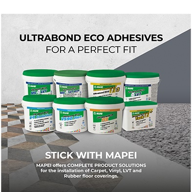 Mapei Ultrabond Eco Adhesive Range.
