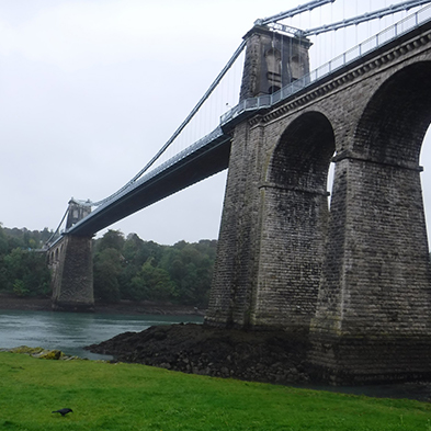 Concrete repairs to Anglesey Bridge with Mapei.