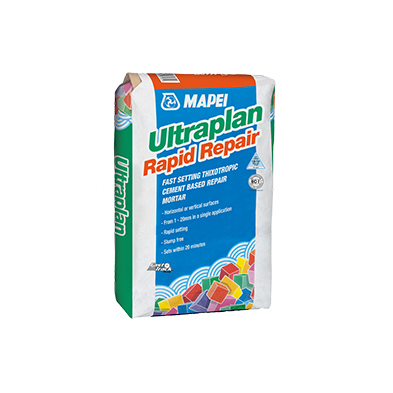 Mapei releases Ultraplan Rapid Repair for faster repairs.