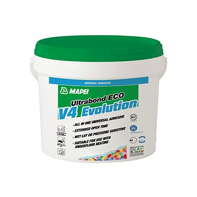 Mapei Ultrabond Eco V4 Evolution – The All in One Adhesive.