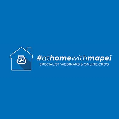 At home with Mapei - Free online CPD's available.