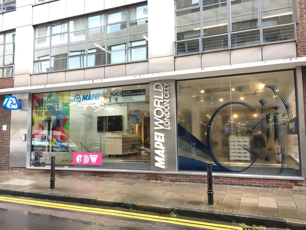 Mapei welcomes Clerkenwell Design Week.