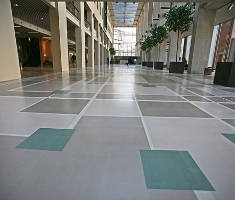 Mapei's seamless resin flooring solutions provide smooth sailing.