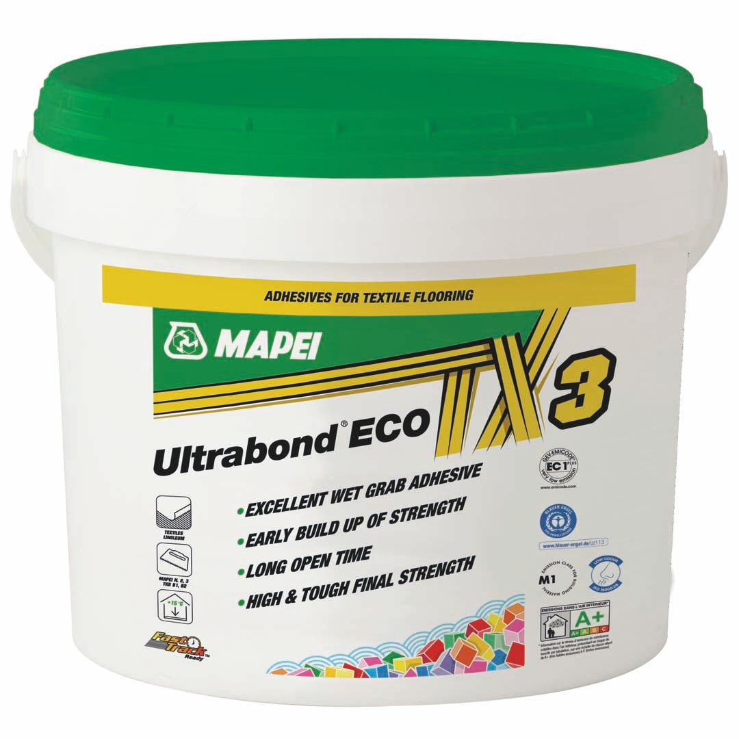 Mapei introduce Premium Carpet Adhesive Ultrabond Eco TX3.