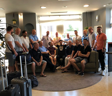 Mapei UK host Italian trip for contractors in collaboration with Boydens Tiles.