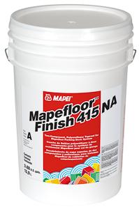<i>Mapefloor</i>™ <i>Finish 415 NA</i>