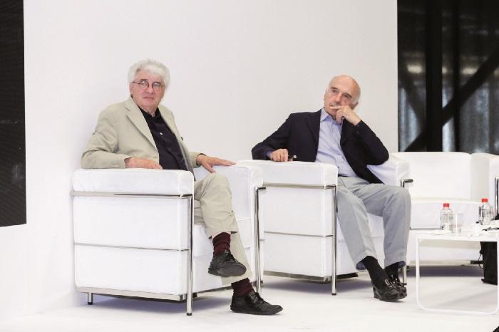 Mario Botta and Fulvio Canali discuss Architectural Design