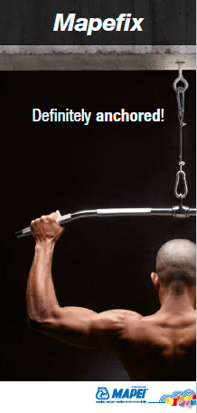 Mapefix Chemical Anchors Brochure