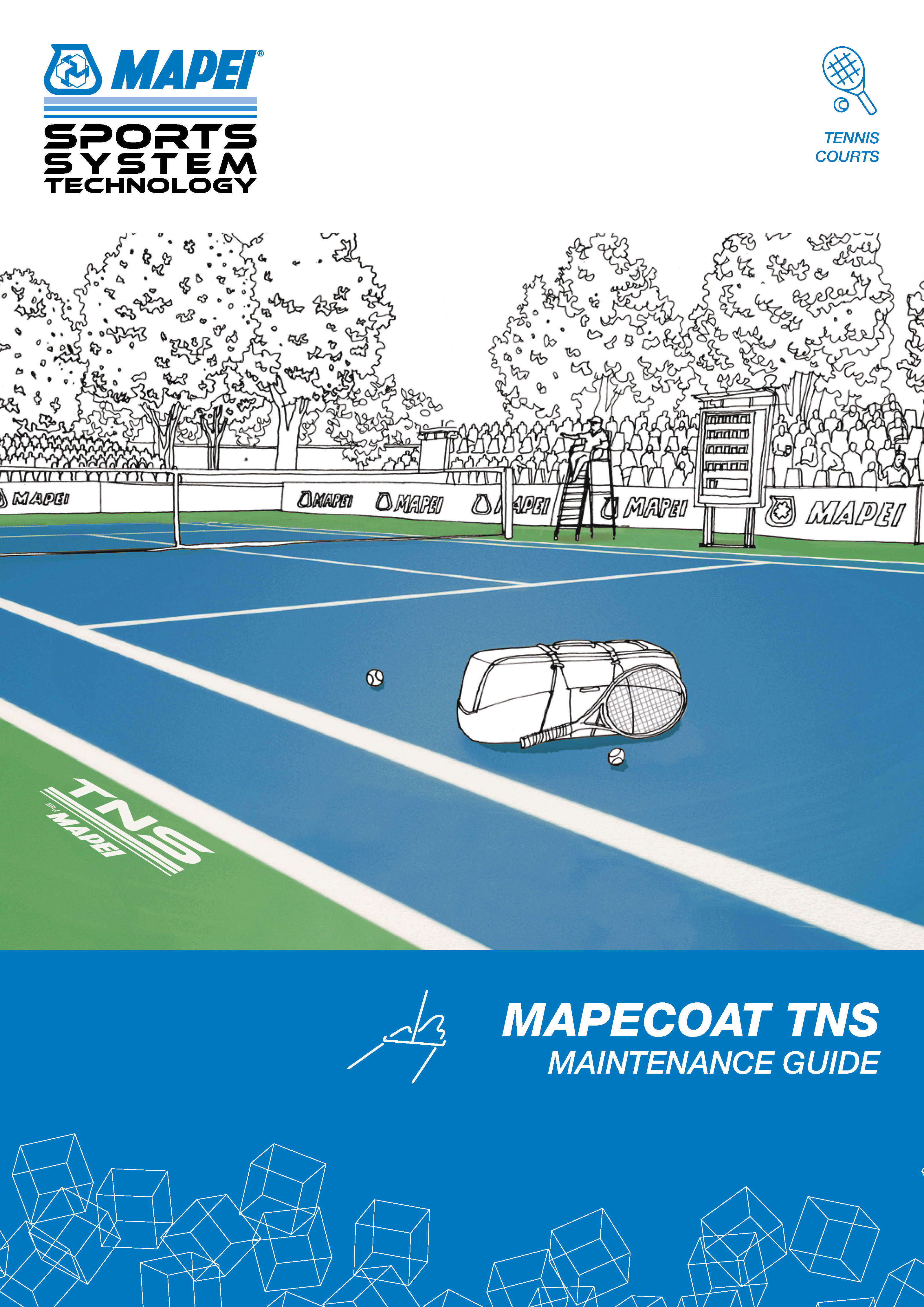MAPEI Mapecoat TNS Maintenance Guide for Tennis Courts