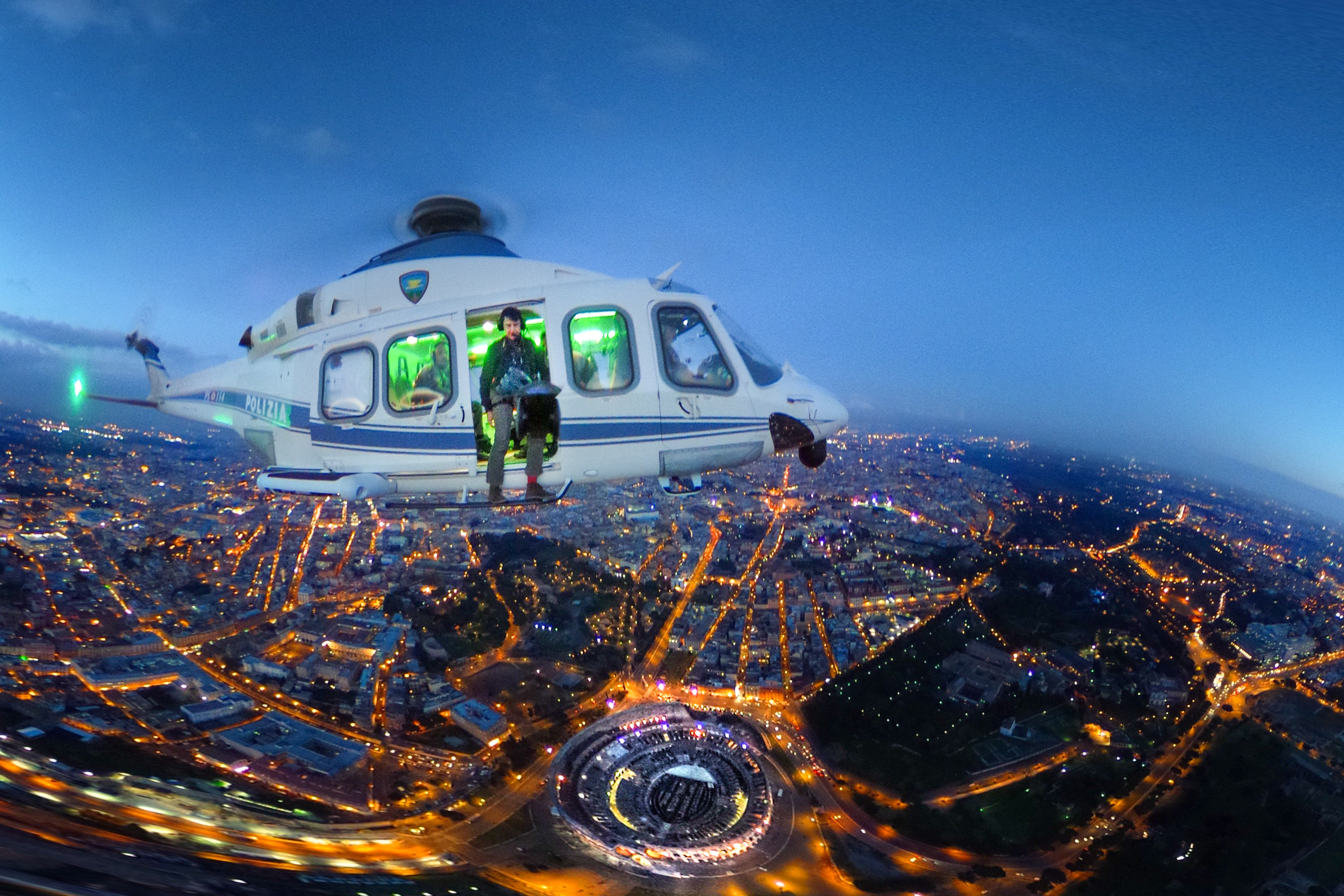 Mapei Australia is proud to support the photo series: Italy - Twilight Skylines from Police Helicopters