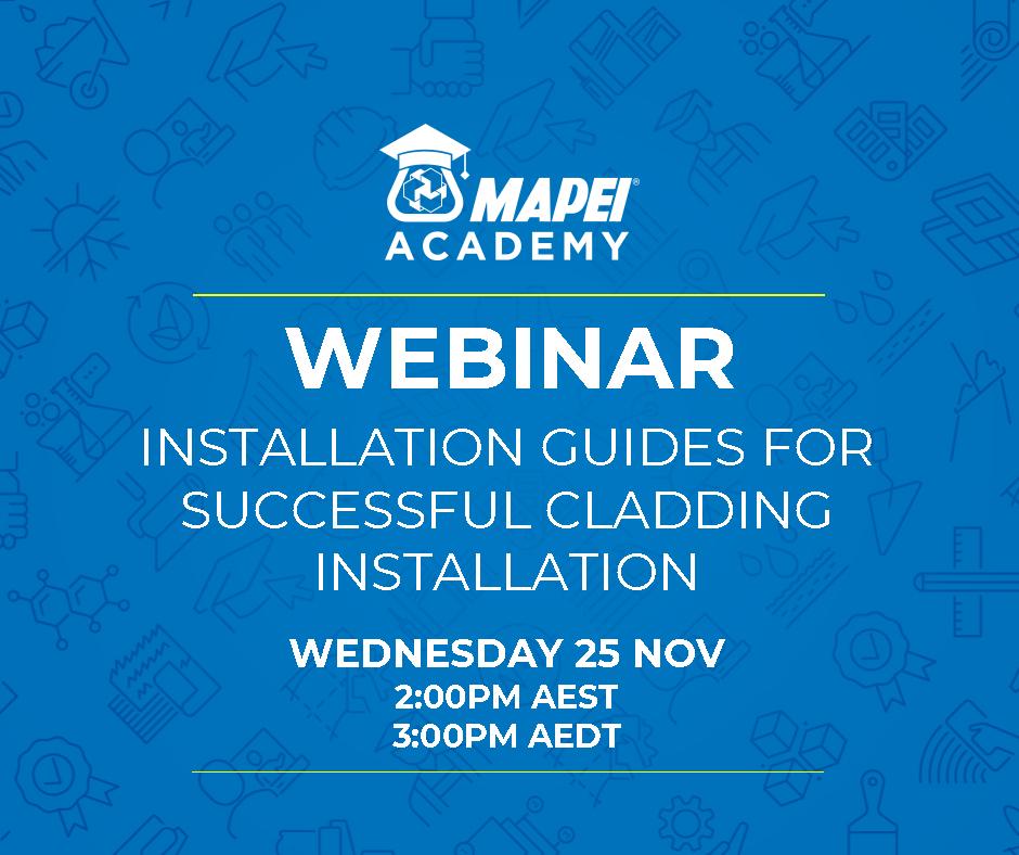 Webinar Facebook Post - v2 Installation Guides for Successful Cladding Installation 25.11.20