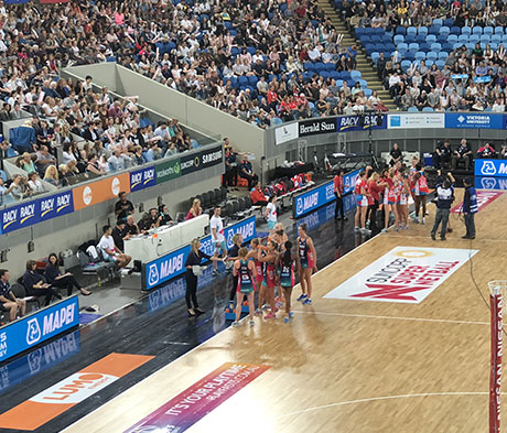 Mapei sponsors Netball in Victoria