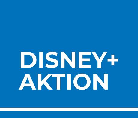 Jetzt bestellen & gratis Disney+ Jahresabo holen!