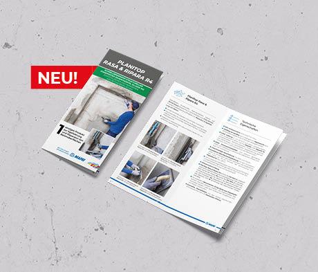 Planitop Rasa & Ripara R4 – Ein einziges Produkt zur Egalisierung & Reparatur von Beton