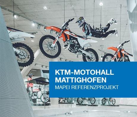 Referenzprojekt KTM-Motohall in Mattighofen