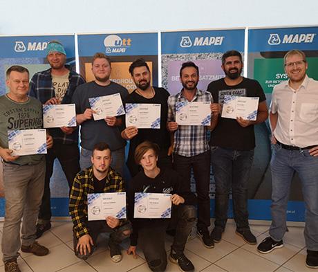 Fußbodentechnik – Qualitätsschulung der Mapei-Academy