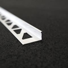 Winkelprofil, Alu weiß, 10mm, Nr: 11910W3, Front; Fotocredit: Denise Frunza