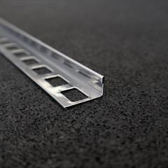 Winkelprofil, Edelstahl gebürstet, 10mm, Nr: 11910E3G, Front; Fotocredit: Denise Frunza