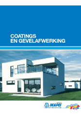 Mapei - Coatings en gevelafwerking