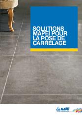 Mapei - Solutions pour la pose de carrelage
