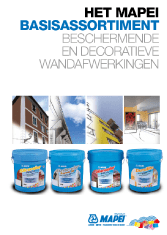 Mapei - Basisassortiment Coatings