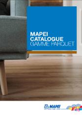 Catalogue Mapei - Gamme parquet