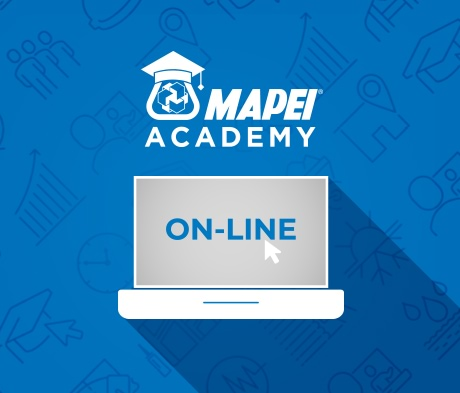 Mapei Academy Online: τώρα η τεχνογνωσία και η εξειδίκευση της Mapei κοντά σας με ένα κλικ!
