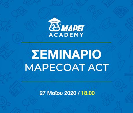Σεμινάριο Mapecoat ACT