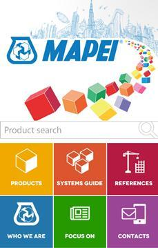 MAPEI Mobile Optimised Website