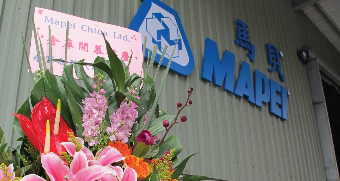 Mapei Warehouse Grand Opening Celebration