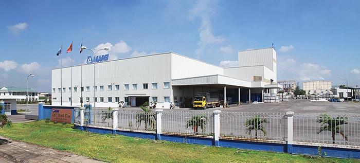 Mapei Vietnam Plant banner